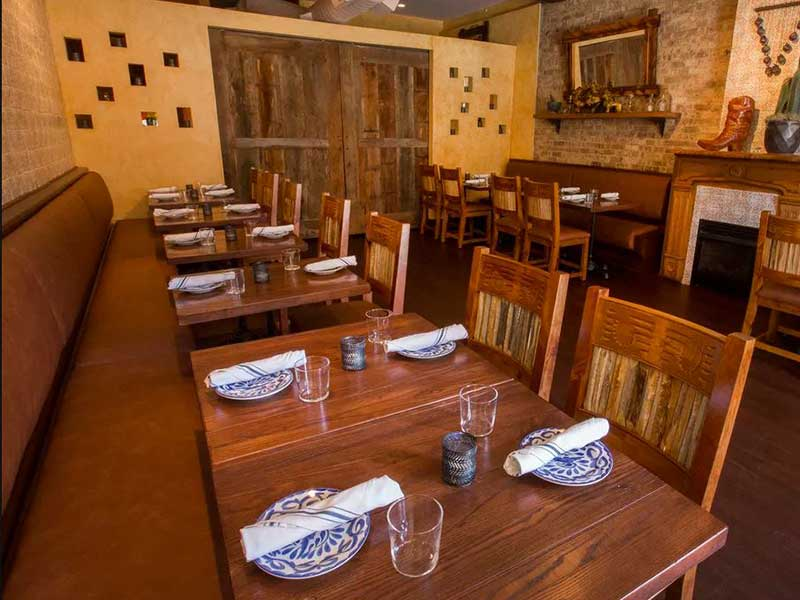Upscale Mexican Restaurant