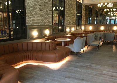 Modern Hotel Lobby & Bar